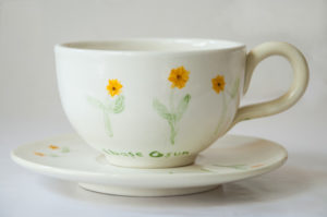 cappucino cup and saucer © 2017