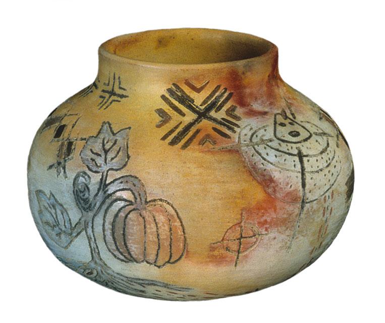 Orisha Pumpkin Pots 1997 Gailwilliamsart Com