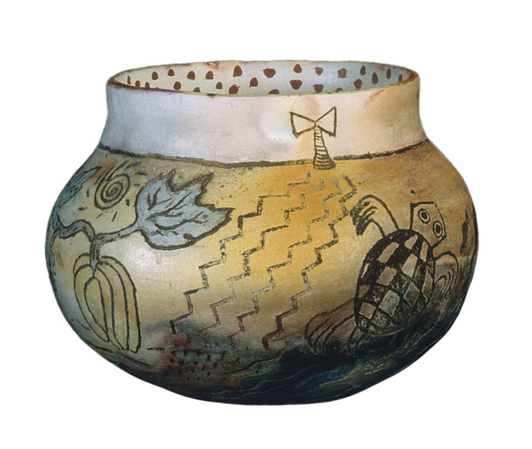 Clay vessel for Shango